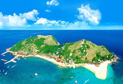 分界洲岛是海南岛重要的南北分水岭,以分界洲岛为界,南部地区季风性